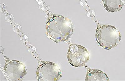 Modern 3 heads LED Pendant Light Pastoral Glass Crystal Chandeliers Cafe Bar Living Room Pendant Lamp,220v