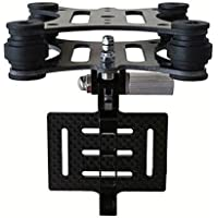 Crazepony Anti-vibration Camera Mount Gimbal for Gopro Hero 2 3 FPV Multirotor Qaudcopter