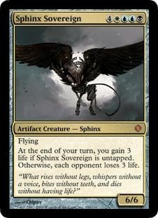 Magic: the Gathering - Sphinx Sovereign - Shards of - Alara Mint