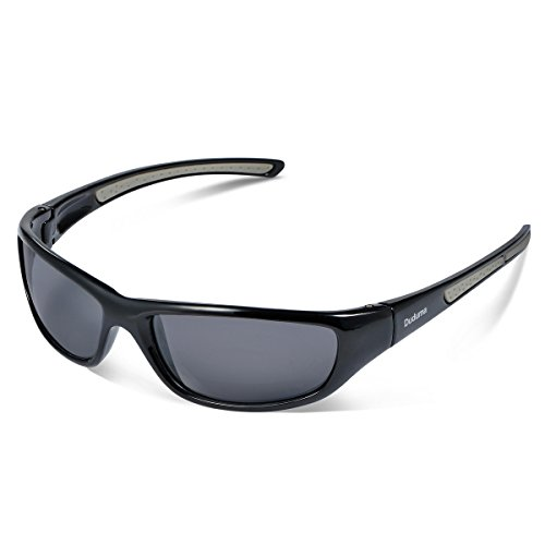 9585fab6a4 Duduma Tr8116 Polarised Sports Sunglasses for Mens and Womens Design for  Ski Baseball Golf Cycling Fishing Running Driving Superlight Frame