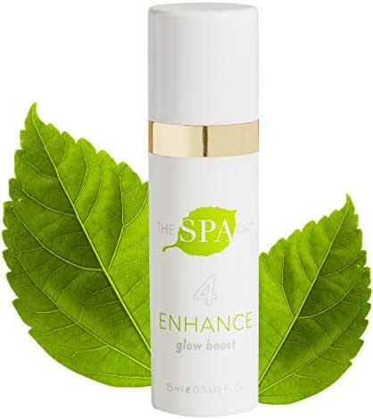 The Spa Dr.: Step 4 Enhance - Glow Boost - Anti Aging Skin Care - 30 Day Supply - Safe For All Skin Types - Made With Natural & Organic Ingredients - Perfectly pH Balanced