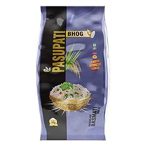 Pasupati Regular Basmati Rice, Long Grain 1Kg