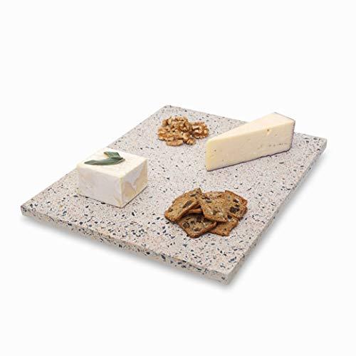 (Terrazzo Cutting Board & Serving Tray - Cheese Board | Modern Decorative Serving Platter (16