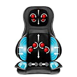 Best Choice Products Air Compression Shiatsu Neck Back Massager Seat Chair Pad Massage Cushion, 2D/3D Kneading with Heat, Rolling & Spot Massage - For Full Body Pain Relief