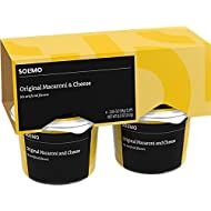 Amazon Brand - Solimo Macaroni & Cheese Cups, 2.05 oz (Pack of 4)