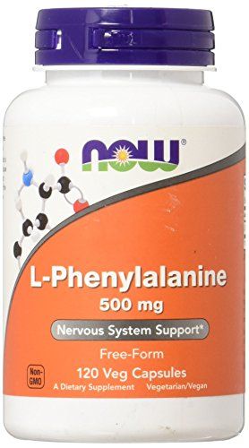 NOW Foods L Phenylalanine 500mg Capsules