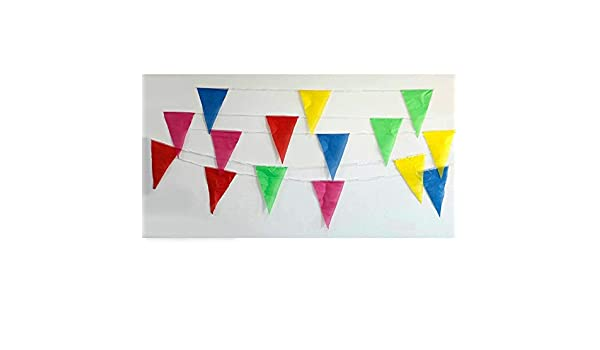 Happy Birthday Festival Bunting Banner Paper Flag Garland Party Hanging Decor
