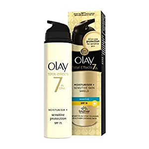 Olay - Total effects, crema hidratante con, factor de protección solar 15