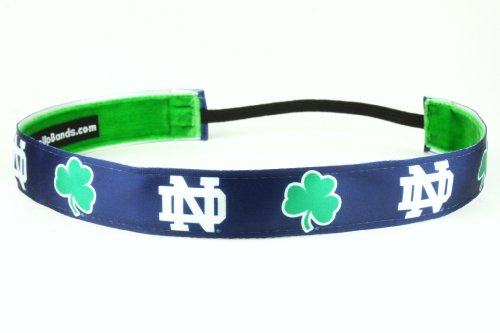 One Up Bands Women's NCAA University of Notre Dame Team One Size Fits Most by One Up Bands