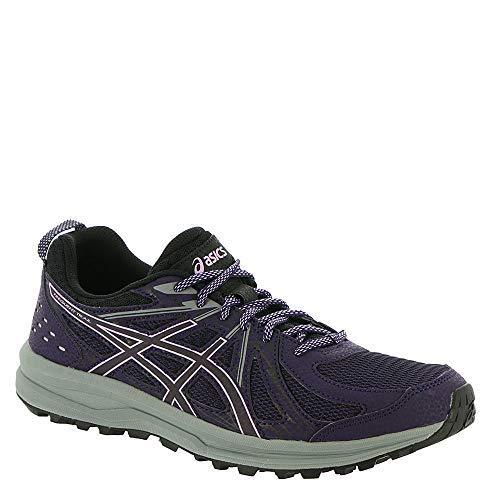 ASICS Frequent Trail Women's Running Shoe, Night Shade/Black, 8 B US