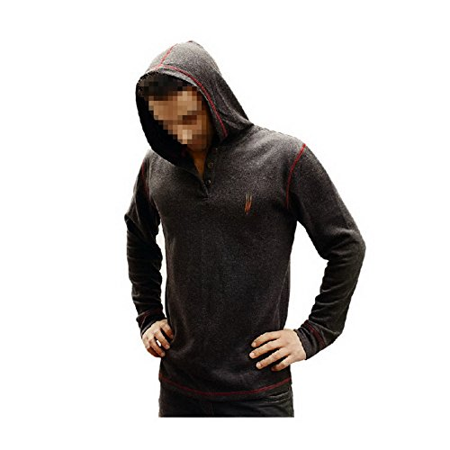 New Fashion Hunter Style Hooded Tshirt Sweatshirt Jacket Costume for Men L - Demon Hunter Costume Male