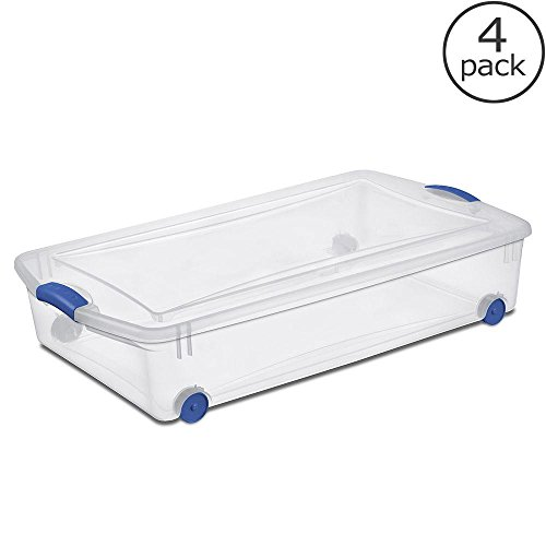 underbed plastic storage - 5