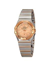 Omega Women's 'Constellation' Swiss Quartz Stainless Steel Dress Watch (Model: 12320276057002)