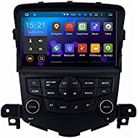 SYGAV Android 5.1.1 Lollipop Car Stereo Player for Chevrolet Cruze 2008-2013 with Quad Core Radio 2 Din 8 inch In-dash GPS Sat Navigation