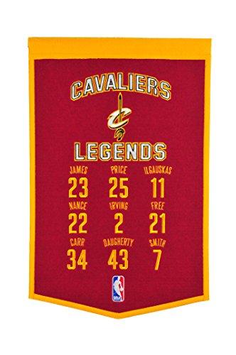 Winning Streak NBA Cleveland Cavaliers Legends Banner
