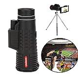 Kacowpper Telescope Lens,Super High Power 50X60 Portable HD Optical Zoom Camera Telescope Lens