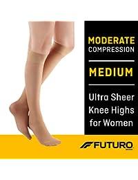 Sheer Knee Highs, Nude, Medium