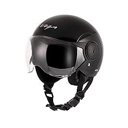 Vega Atom Black Helmet for Women (M)