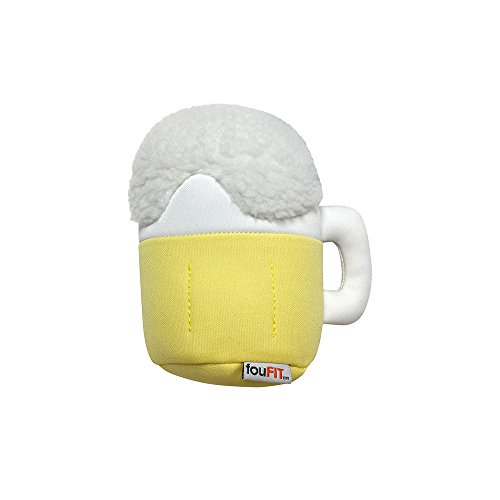FOUFIT Plush Munchies Freeze 'n' Float Dog Toy, 5