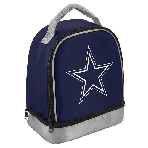 Forever Collectibles NFL 2013 Team Logo Dual Compartment Lunch Bag Cooler - Pick Team! (Dallas Cowboys)