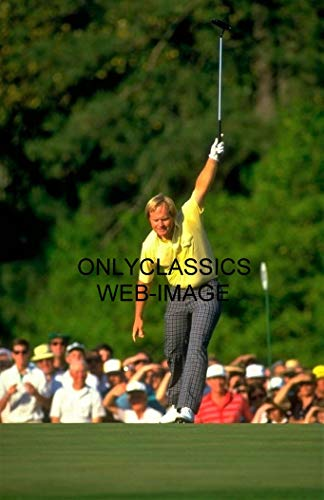(OnlyClassics 1986 PGA Tour Golf Champion Legend Jack Nicklaus 11X17 Photo Poster Making)