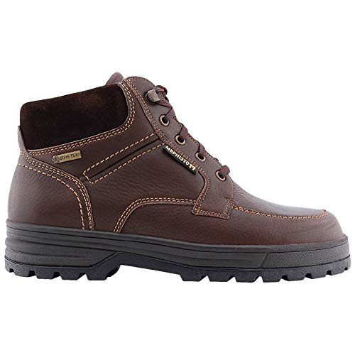 Mephisto Mens Jim Gt Hudson Leather Chestnut Boots 8 US Brown ()