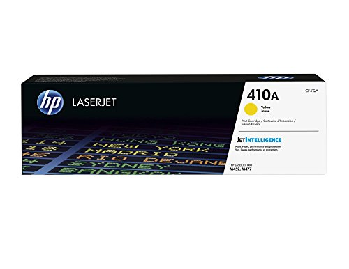 HP 410A (CF412A) Yellow Original LaserJet Toner Cartridge