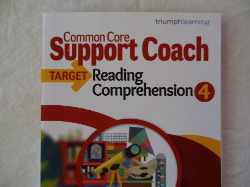 Common Core Support Coach, Target: Reading Comprehension, Grade 4