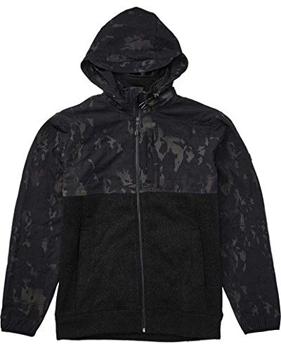 Billabong Men's Boundary Multicam Zip Fleece Black Camo X-Large ()