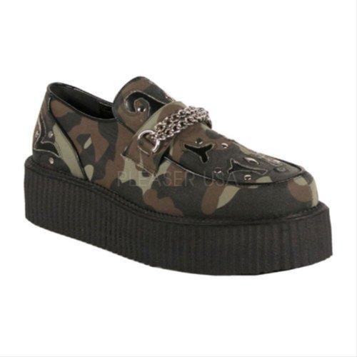 oxford Zapatos hombre Demonia Demonia Zapatos Camouflage O1nq6B