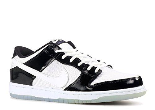 Nike Heren Jordan 1 Sb Qs Leer Skateboarden Zwart En Wit