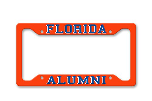 The Turnip Seed Co Florida Alumni - UF Colors - License Plate Frame LP1498