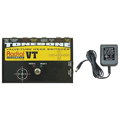 Radial Headbone VT Head Switcher for 2 Tube (valve) Guitar Amps