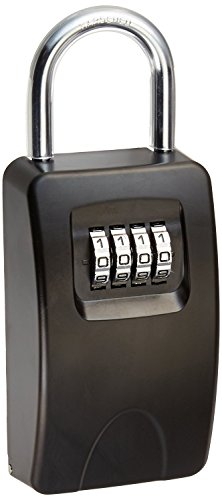 LockState LS-KDS20 Shackle Mount Spare Key Box, Large