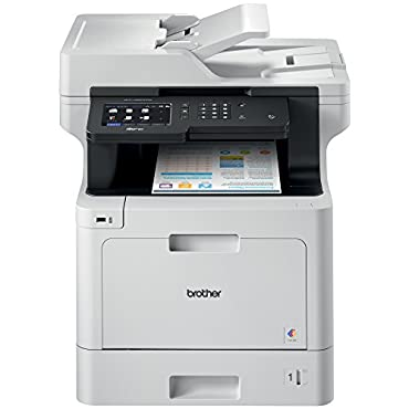 Brother MFC-L8900CDW Business Color Laser All-in-One with Advanced Duplex and Wireless Networking, Amazon Dash Replenishment Enabled