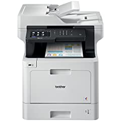 The Brother MFC L8900CDW color laser all in one is ideal for offices and small workgroups with higher print volumes. Brother Genuine Super High Yield 6,500 page replacement toner cartridges (4) deliver low cost output. Print/copy up to 33 pag...