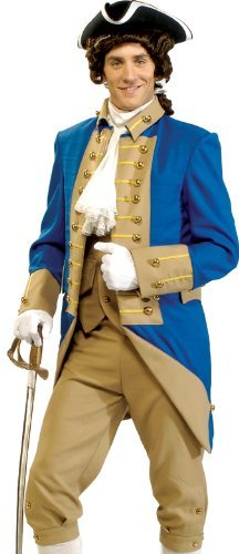 Deluxe George Washington Adult Costume - X-Large]()
