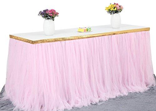 tulle table skirt