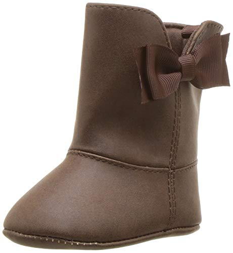 Baby Deer Girls' 02-4866 Mid Calf Boot, Chocolate, 1 Medium US Infant ()