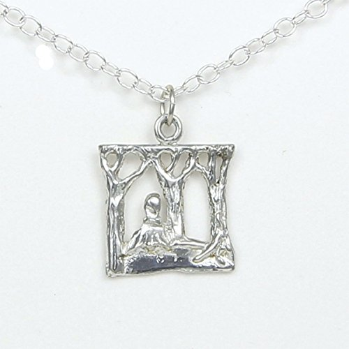 Into The Woods Musical Theater inspired Necklace - Gift Packaged - Handcrafted Pewter Made in USA