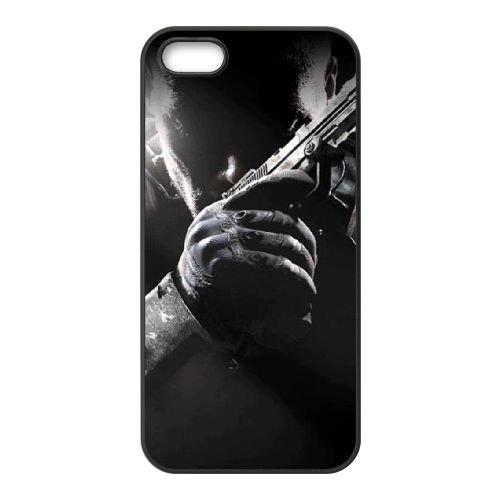 Call Of Duty Black Ops 004 coque iPhone 4 4S cellulaire cas coque de téléphone cas téléphone cellulaire noir couvercle EEEXLKNBC23994