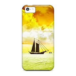 New DDV1262mNKU Ship Skin Case Cover Shatterproof Case For Iphone 5c