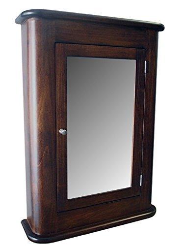 Delicieux Madrid Medicine Cabinet/Dark Walnut Finish/Solid Wood U0026 Handmade/Surface  Mount