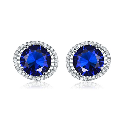 online blue earring buy saadia stone diamond drop bluestone designs gold earrings the jewellery pics