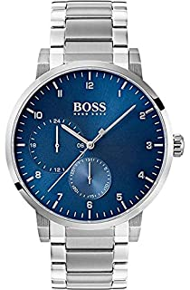 304513aeb69 Hugo Boss Men s Oxygen Quartz Chronograph Stainless Steel Watch 1513597
