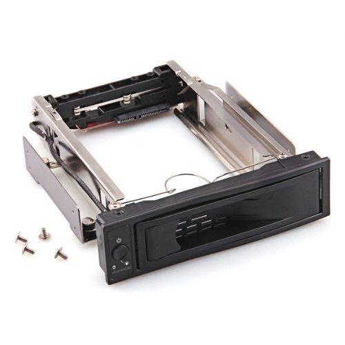 SODIAL(R) Caja Extraible para Disco Duro de 3.5 pulgadas SATA Interruptor Alimentacion LED 024183