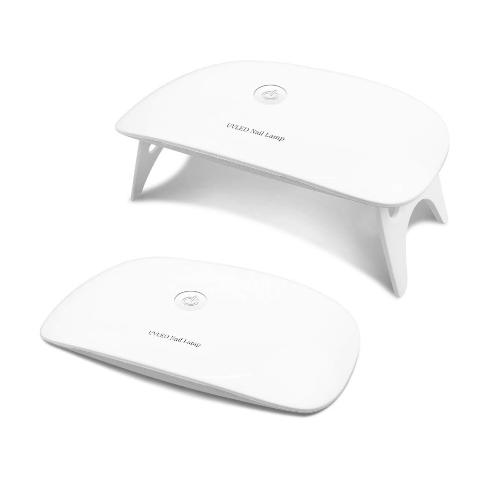 Amazon Com Brightinwd Pocket Size Mini Uv Nail Lamp Starter For
