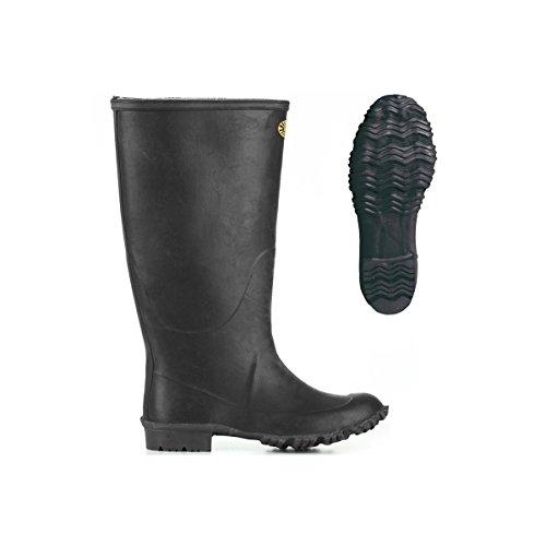 Black 7266 ginocchio Stivali Padus In Gomma qFvEwSHf