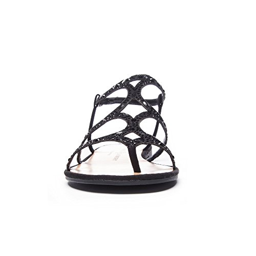 Chinese Laundry Womens Gianna Open Toe Casual Ankle Strap Sandals Black hE33Fne