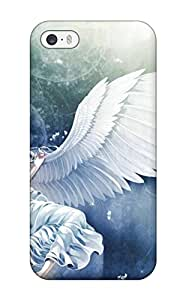 6056222K440084042 anime angel girl mood Anime Pop Culture Hard Plastic iPhone 5/5s cases